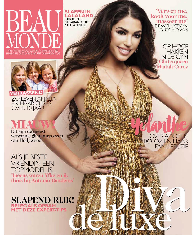 Afbeeldingsresultaat voor beau monde magazine nederland cover