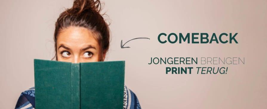 COMEBACK – Jongeren brengen print terug